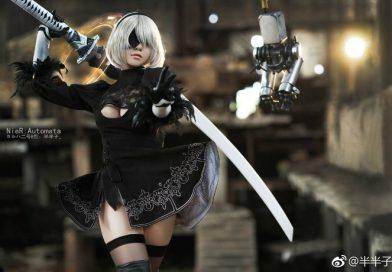 Bỏng mắt với chùm ảnh cosplay nữ chính trong Nier: Automata