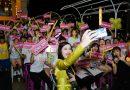 Đông Nhi được đông đảo fan cuồng trào đón tại chương trình sinh nhật FC tròn 9 tuổi