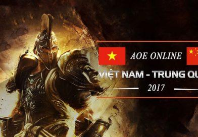 Giải đấu AOE Việt Trung 2017 khởi tranh