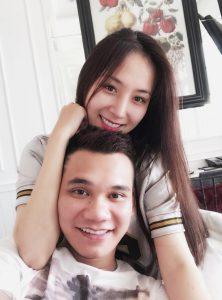 Hình ảnh ngọt ngào của Khắc Việt và Thảo Bee