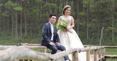 Ảnh cưới cưới của Bảo Duy với cô dâu thứ 3