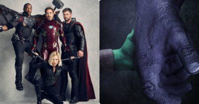 Avenger: Infinity War thích thú trước poster Thanos – Gamora dựa theo Logan