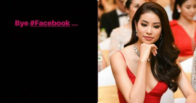 Hoa hậu Phạm Hương  tuyên bố khóa facebook vĩnh viễn