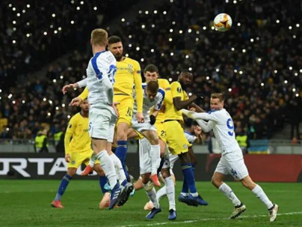 Chelsea vượt qua Dynamo Kiev với tổng tỷ số 8-0