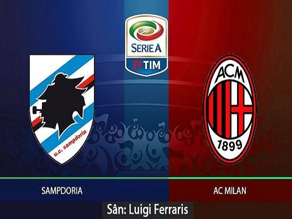 Dự đoán Sampdoria vs AC Milan, 2h30 ngày 31/03