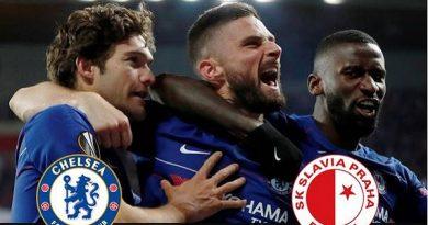 Chelsea tiến vào bán kết Europa League sau trận cầu kịch tính với Slavia Prague