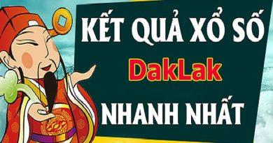 Soi cầu XS Daklak chính xác thứ 3 ngày 19/11/2019