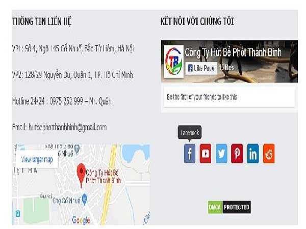 Công ty Thanh Bình có thông tin, địa chỉ rõ ràng, cố định