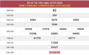 Dự đoán XSTV ngày 27/3/2020 - KQXS Trà Vinh thứ 6