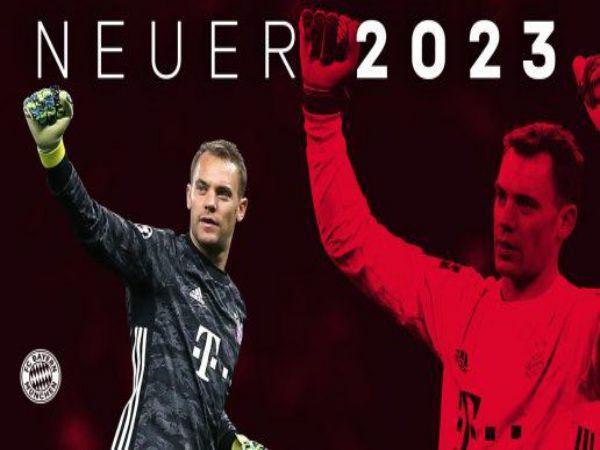 Neuer chính thức gia hạn với Bayern Munich