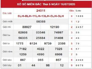 Bảng KQXSMB- Dự đoán xổ số miền bắc ngày 17/07 chuẩn xác