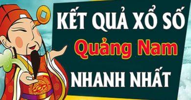Soi cầu XS Quảng Nam chính xác thứ 3 ngày 11/08/2020