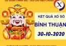 Soi cầu số đẹp xs Bình Thuận thứ 5 ngày 29-10-2020