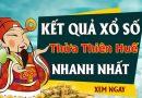 Soi cầu XS Thừa Thiên Huế chính xác thứ 2 ngày 26/10/2020