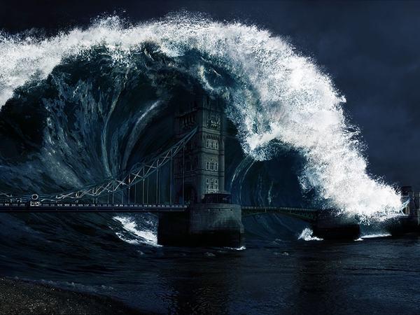 Mơ thấy sóng thần là điềm báo điều gì?
