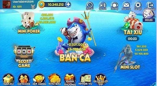 365 Club - Bắn cá săn thưởng, chơi bài giải trí