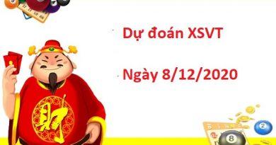 Dự đoán XSVT 8/12/2020