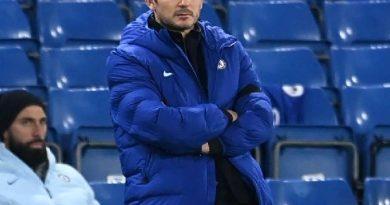 Tin thể thao chiều 4/1: Lampard không sợ mất ghế