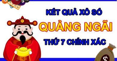 Nhận định KQXS Quảng Ngãi 13/3/2021 thứ 7 cùng chuyên gia