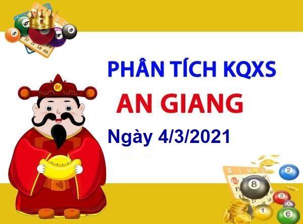 Phân tích KQXSAG ngày 4/3/2021