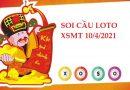 Soi cầu loto gan KQXSMT 10/4/2021 hôm nay thứ 7