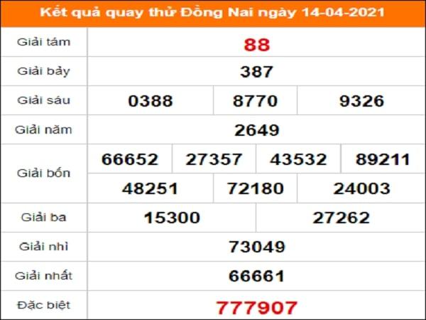 Quay thử Đà Nẵng ngày 14/4/2021 thứ 4