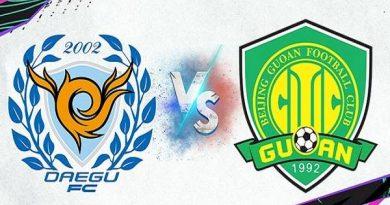 Nhận định Daegu vs Beijing Guoan – 21h00 02/07/2021
