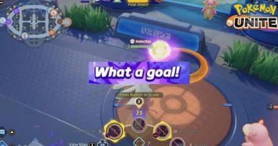 Pokemon Unite Người chơi ghi bàn thắng ở phút cuối trận