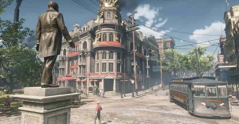 Ảnh màu về New Orleans từ năm 1906 Trông giống như A Red Dead Redemption 2