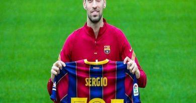 Tin thể thao 12/8: Barca chốt đội trưởng mới của câu lạc bộ