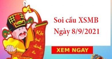 Soi cầu XSMB 8/9/2021