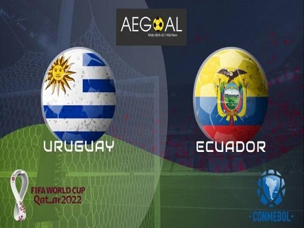 Soi kèo uruguay vs ecuador 10/9