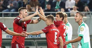 Tin thể thao 25/9: Bayern thắng đậm dù chơi với 10 người