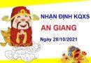 Nhận định KQXSAG ngày 28/10/2021 chốt bạch thủ đài An Giang